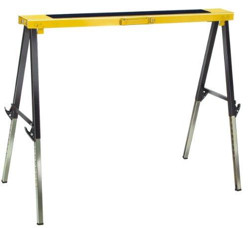 Brennenstuhl Falt-Arbeitsbock MB 120 KH (Arbeitsbock faltbar und höhenverstellbar, mit Tragegriff)