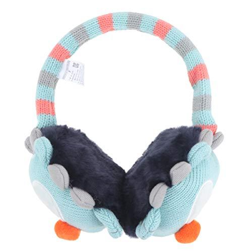 Fenical Ohrenschützer Kinder Winter Plüsch Ohrenschützer Warm Stricken Ohrenwärmer für Baby Kinder 2-7 Jahre Alt