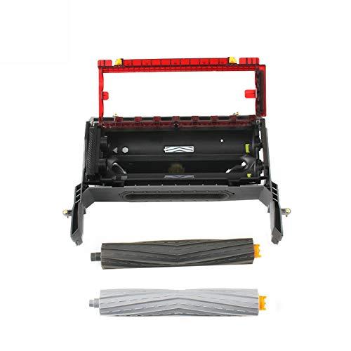Staubsaugerbürste Rahmen Hauptbürste Rahmen-Reinigungskopf Modul verbesserte Bürste Montage Ersatzteile für iRobot Roomba 870 880 980 860 Serie