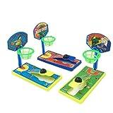 Dorime 1 PC de Bolsillo Mini Dedo de Disparo de Baloncesto de Escritorio de la máquina Anti-estrés de descompresión niños de Juguete Entre Padres e Hijos Juegos interactivos