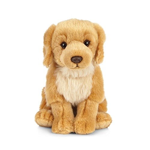 Living Nature Nature-AN459 Pets AN459 Juguete de Peluche para Mascotas Golden Retriever, Color Desconocido, 20cm Dog (Keycraft