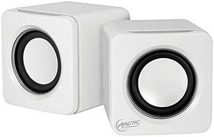 ARCTIC S111 M (Bianco) - Mini sistema audio portatile con mini USB, potenza da 2 x 2 W RMS e batteria integrata al litio polimero da 2000 mAh - Presa jack da 3,5 mm - Trova i prezzi più bassi