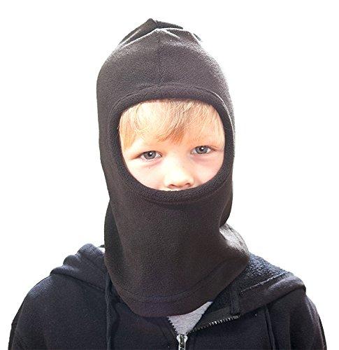 Screamer K's Snow Flurries Hat, Black, One Size