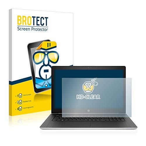BROTECT Schutzfolie kompatibel mit HP ProBook 470 G5 klare Bildschirmschutz-Folie