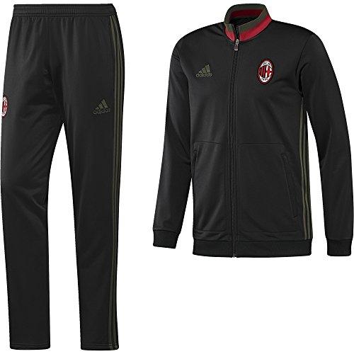 adidas ACM PES SUIT - Traininganzug- AC Milan - Herren, Schwarz , XL