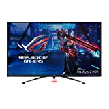 """Asus ROG Strix XG438Q 43"""" Large Gaming Monitor with 4K 120Hz FreeSync 2 HDR Displayhdr 600 90% DCI-P3 Aura Sync 10W Speaker Non-Glare Eye Care with HDMI 2.0 DP 1.4 Remote Control (Renewed)"""