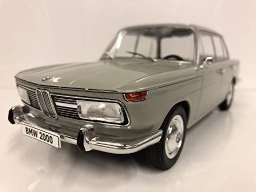 MCG BMW 2000 1966 Hellgrau, Modellauto 1:18