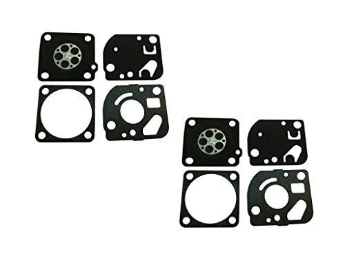 C·T·S Vergaserdichtung und Membran-Kit ersetzt Ruixing RX-1 für Homelite 26cc 30cc Trimmergebläse 42cc Kettensäge Ruixing Vergaser (2 Stück)