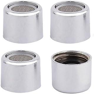 La boquilla de filtro de 19 mm Rosca interior 4pcs eDealMax plástico de la cocina del