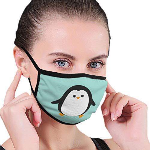 Sciarpe orecchio regolabili bocca per pinguino carino all'aperto personaggio dei cartoni animati artico animale riutilizzabile C-o-v-e-r