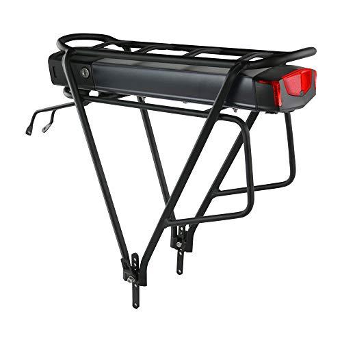 uppcycle Batterie de Velo électrique 36V 13Ah - Arrière Grille vélosBatteries au Lithium-ION pour 250W 350W 500W Ebike vélo