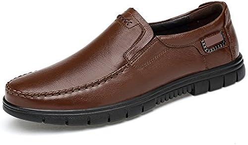 GTYMFH Business Daddy Schuhe Senior Schuhe Lederschuhe Rutschfest Herrenschuhe