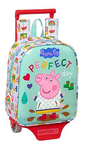 Peppa Pig Safta Nursery Backpack with Safta Trolley 220 x 100 x 270 mm