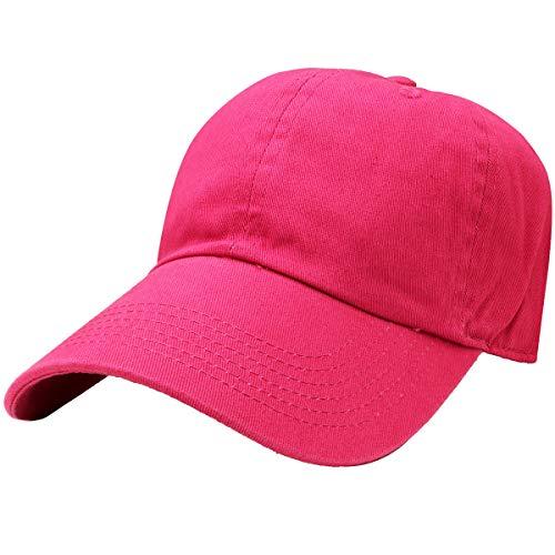 Falari Adjustable 100% Cotton Baseball Cap