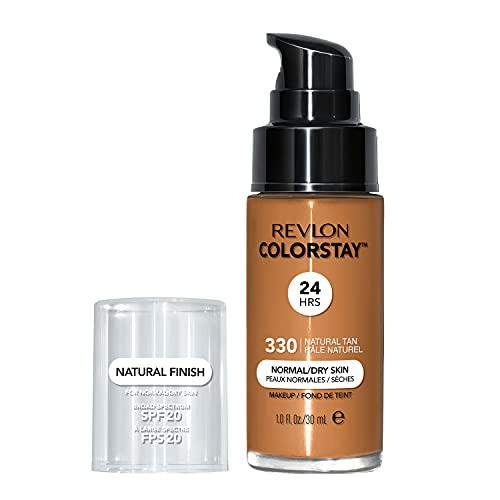 Revlon - ColorStay - Fond de Teint - Flacon 30 ml - Dry Skin N330 Natural Tan