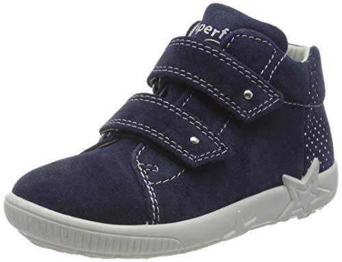 Superfit Mädchen Starlight Sneaker, Blau (Blau 80), 19 EU