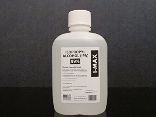 Isopropyl Alcohol 99.5% - 4 Liters (One Liter, 33.8 Oz, greater than one US Quart) 4X1 Liter Case by gotparts747