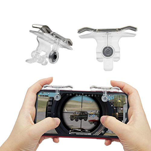 Mobile Game PUBG Trigger - PUBG Mobile Controller and Phone Game Controller for Call of Duty Mobile/FORTNITE Mobile/PUBG UC/Pub G/COD Mobile - Mobile Gaming Accessories and Phone TRIGGERS