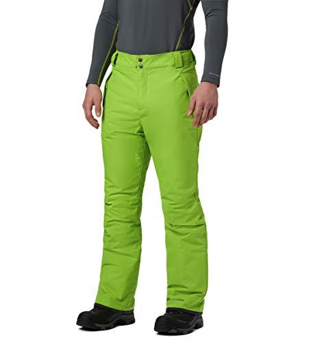 Columbia Ride On Pantalones, Hombre, Verde (Nuclear), Talla: L/R