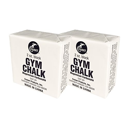 Cramer Gym Chalk Block, Magnesium Carbonate for Better Grip in Gymnastics, Weightlifting, Power Lifting, Pole Fitness, Rock Climbing, 4 oz.