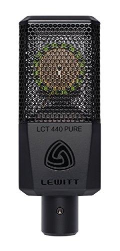 Lewitt lct-440-pure micrófono de condensador de gran diafragma