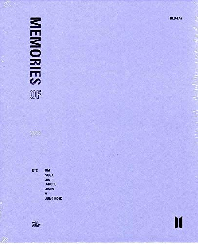 Bts - Memories Of 2018 (4 Blu-Ray) [Italia] [Blu-ray]