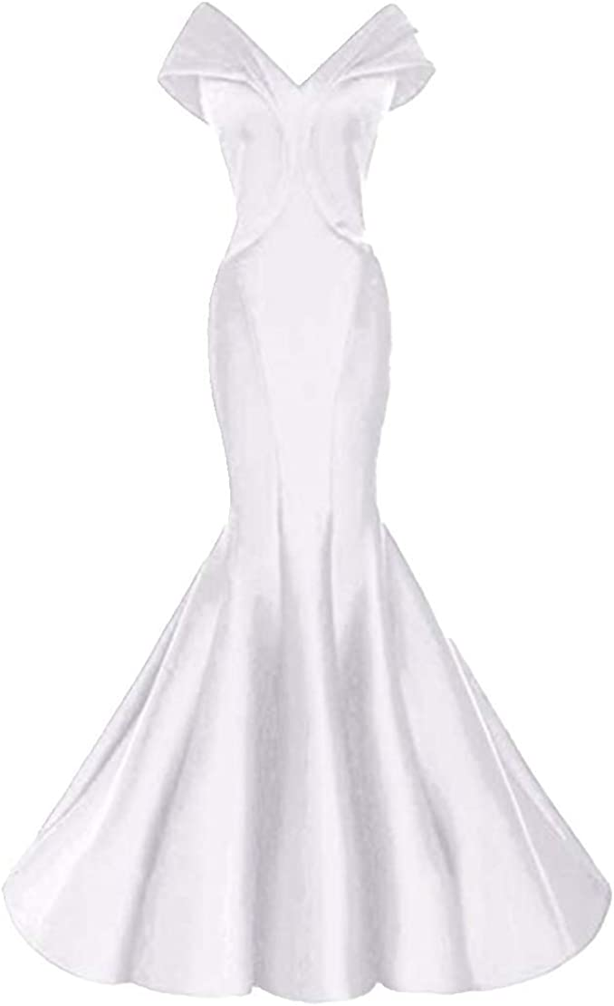 ANGELA Women's Off Shoulder Mermaid Formal Evening Dresses Max 68% OFF Phoenix Mall Long