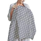Regolabile Copertura Allattamento,Privacy Allattamento Al Seno,Scialle Da Allattamento,Breastfeeding Nursing Cover Up,Copertura Ampia Per Mamme,66cm X 90cm (Punto)