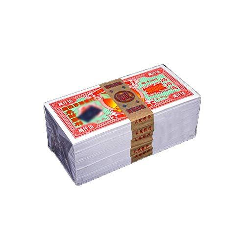 XUETT Papel Moneda Chino Joss Papel Moneda Chino Joss Hell Bank Notes Ancestor Money For Funerals 100 * 5