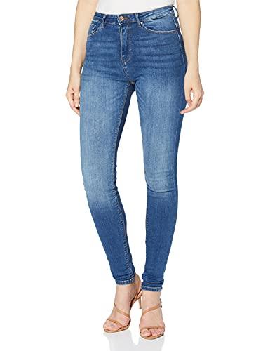 ONLY Damen Onlpaola Hw Dnm Azg0007 Noos Skinny Jeans, Blau (Medium Blue Denim), 34/L