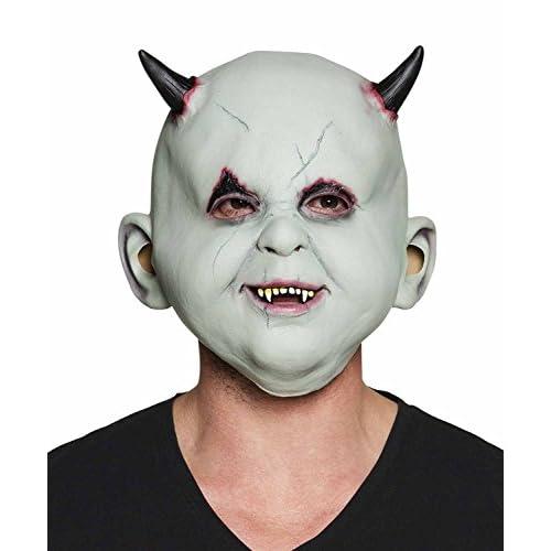 Maschera diavoletto Devil in lattice