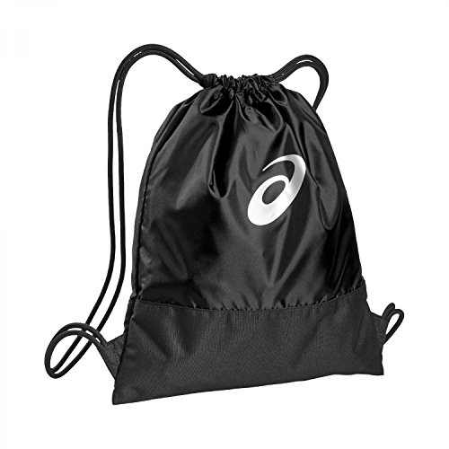 ASICS Unisex's Training Core Gym Sack Sport Bag-Black, 42 centimeters