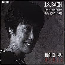 Bach J.S: 6 Solo Suites Bwv 1007-1012 by Nobuko Imai