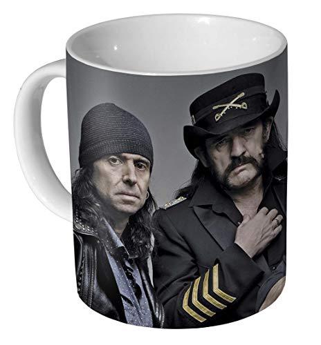 Motorhead Lemmy Kilmister Band Keramik Kaffeetasse/Tasse