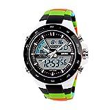 JTTM Hombre Reloj Deportivo Digital con LED Luz De Fondo Grande Cara Resistente...