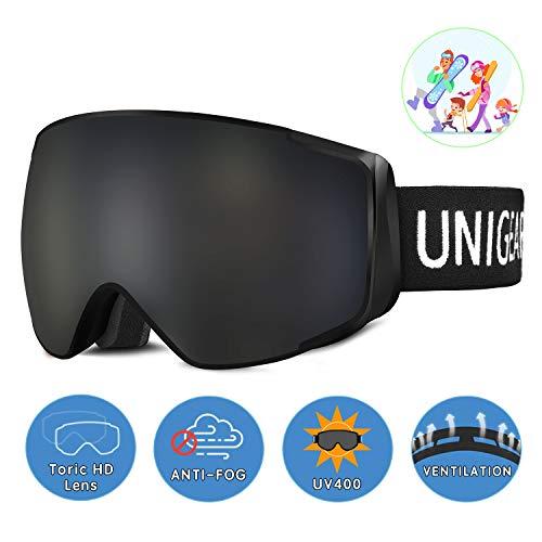Unigear Gafas Esquí OTG Esquiar Protección UV 400