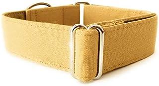 4GUAUS Collar Martingale para Perros - Modelo Mostaza Liso
