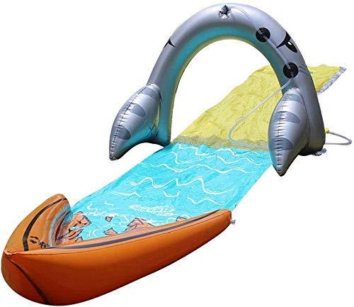 Slide and Slide Water Slide on The Outdoor Lawn for Kids with Inflatable Entertainment in The Backyard JIAJIAFUDR