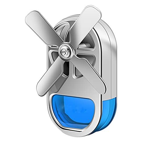 UIOP Four Leaf Air Deodorening Auto Outlet Prefume Lega Clip Auto Aromaterapia Fragranza Auto Profumo Diffusore Decorazione Interna 804 (Color : Blue, Size : 64 * 36mm)