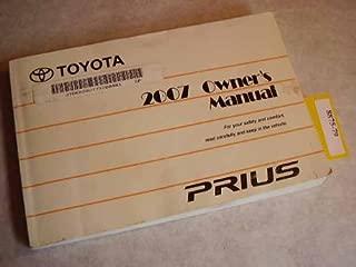 2007 Toyota Prius Owners Manual