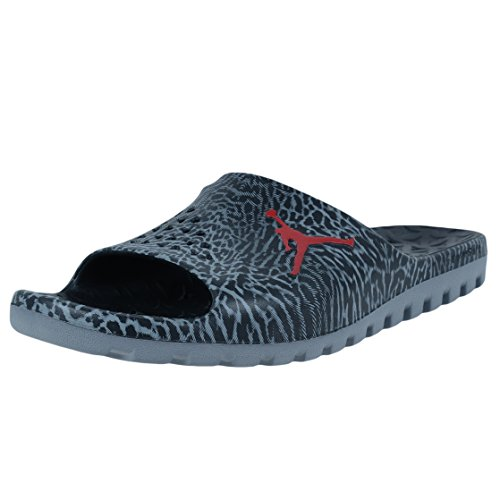 Nike Jordan Super.Fly Team Slide GR, Chaussures de Basketball Homme, Noire (Black (Noir/Gymnase Rouge Gris-Cool), 40 EU