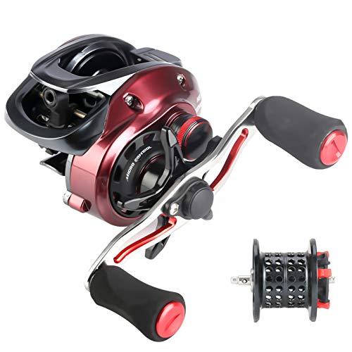 SeaKnight RED Fox ベイトリール, HG/XG/BFSギア比7.2 / 8.1 10+1BB/11+1BB最大ドラグ力6kg