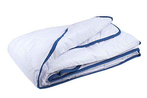 Meradiso® TopCool Steppbett - Decke - für EIN erholsames, trockenes Schlafklima 135 x 200 cm