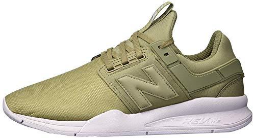 New Balance Damen 247v2 d Sneaker, Grün (Covert Green/Thistle Ob), 41 EU