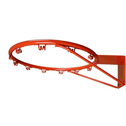 CDsport, Canestro Basket Regolamentare per Esterno e Interno, Cesto Pallacanestro Professionale, Anello da Muro, Resistente e Durevole, Modello Leggero