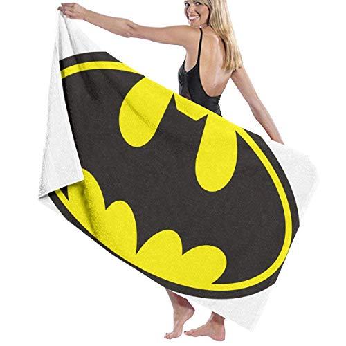 AGHRFH Bat-Man Toalla de Playa Toalla de Baño Toallas Accesorios Toalla de Piscina