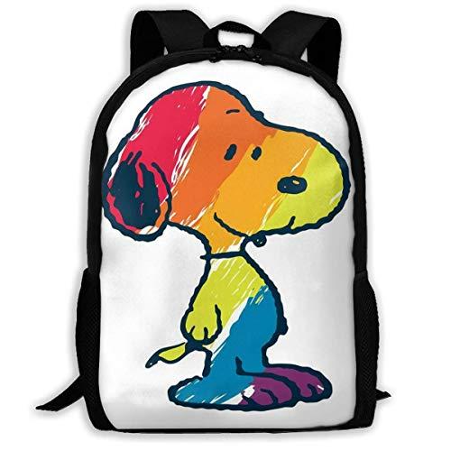 41vDkvDj4tL - Kimi-Shop Mochila Escolar Colorida Snoopys Mochila Mochila para niñas niños