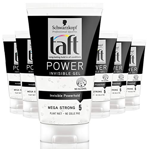 Schwarzkopf Taft Power Invisible Gel 150ml, 6 stuks