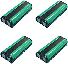 Panasonic KX-TGA670B Cordless Phone Combo-Pack Includes: 4 x UL105 Batteries