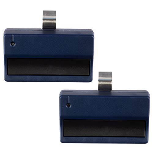 2 Garage Door Remotes for Liftmaster 371LM - Blue